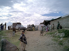 2004 Afghanistan presidential election, refugee voting, Pakistan