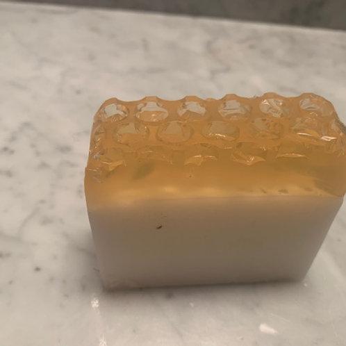 Honey& goats milk soap