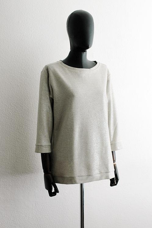 Blusa moletom lurex - 0147