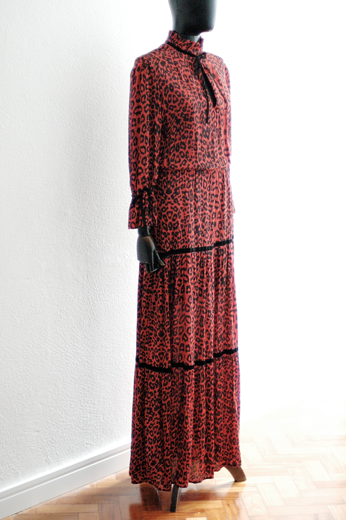 Vestido Animal Print - 0085