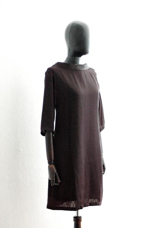 Vestido curto Fake Velour - 0033