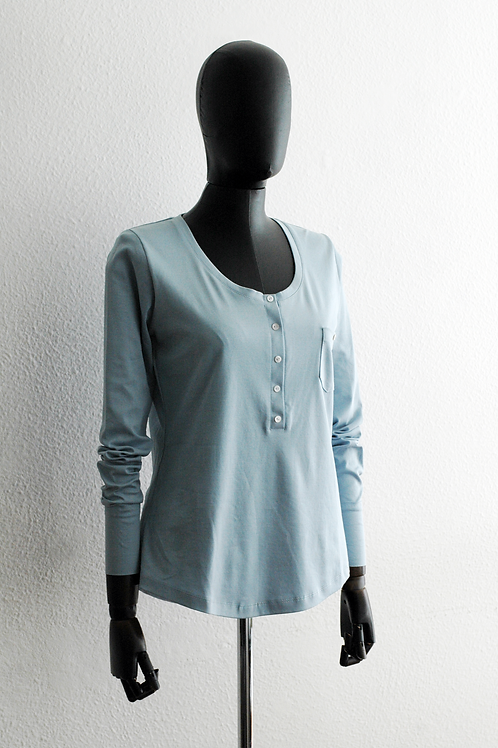 Blusa malha com pati - 0163