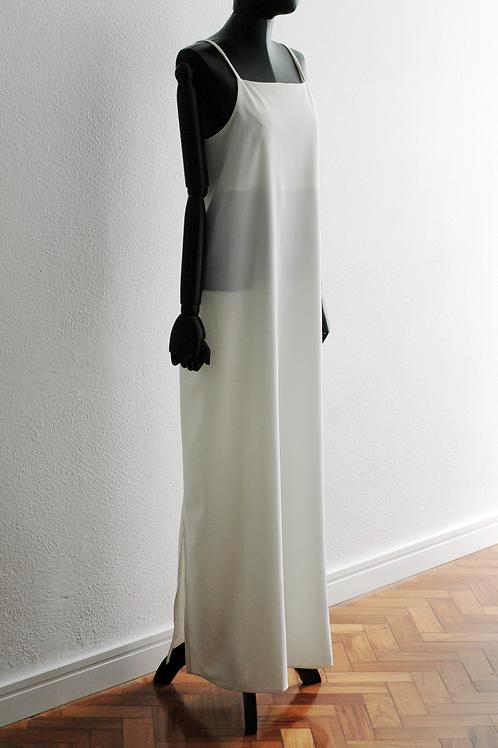 Vestido Longo Alças Finas - 0415