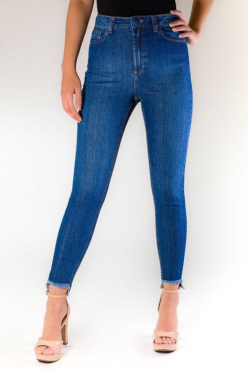 Skinny Jeans - Barra Desfiada - 0201