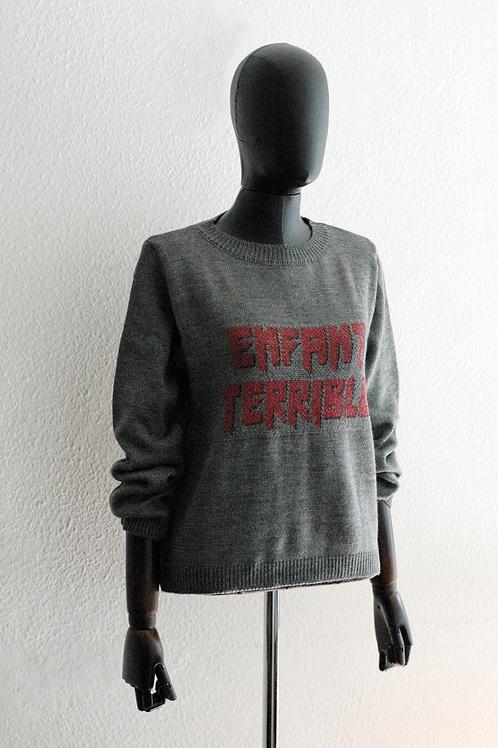 Suéter Enfant Terrible Grafite -  0181