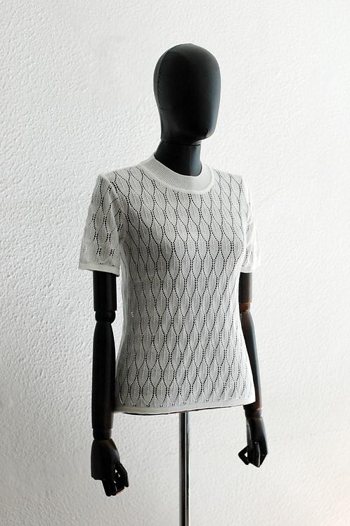 Blusa Tricot Off White - 0550