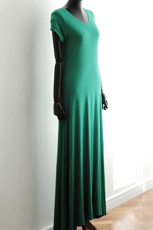 Vestido manga longo malha - 0484