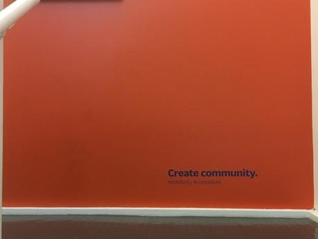 Core values - internal branding