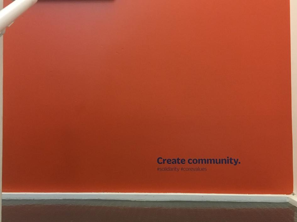 Create community.