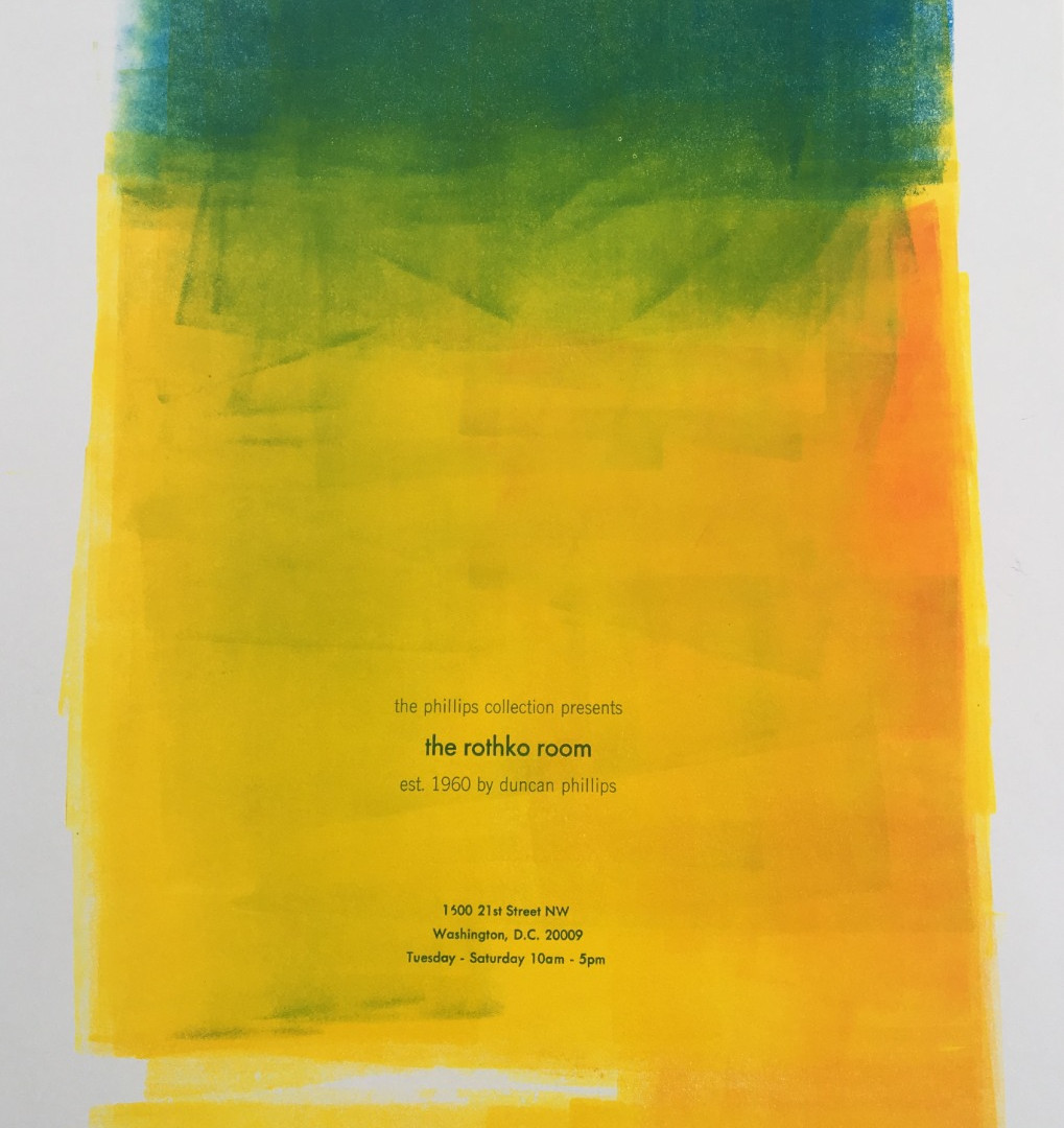Rothko broadside #3