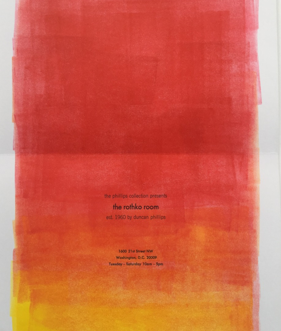 Rothko broadside #2