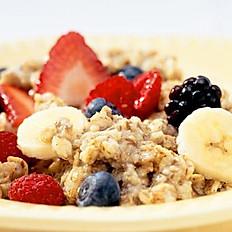 Organic Oatmeal W/ Fruit