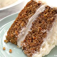 Vineyard's Famous Gluten Free Carrot Cake