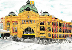 Flinders-Street-Station-illustration