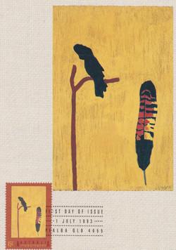 Black Cockatoo Feather