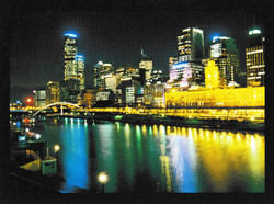 Melbourne-night-view