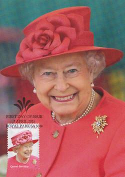 Queen Elizabeth 2013 Brixton