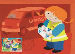 Postie Kate delivers parcels