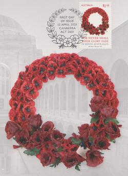Poppy wreath