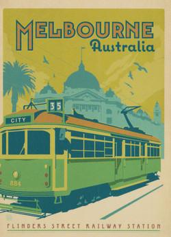 Melbourne-tram