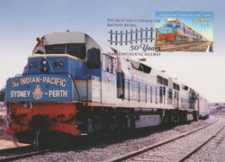 Australia train maxicard
