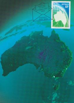 Australia green map
