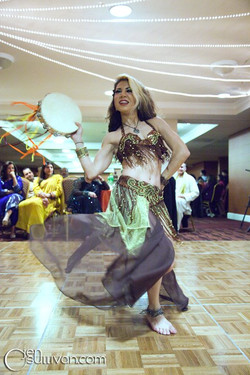 NYE 2010 at Pakistani wedding, I was bursting with energy as always - Photo by Jen O'Sullivan