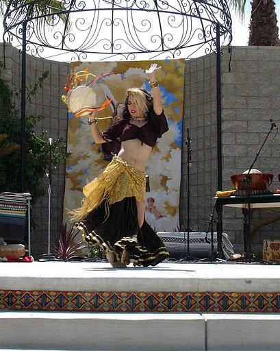 Delano Arts Fest Tambourine Dance!