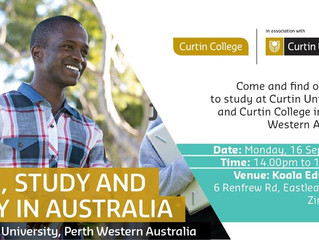 Live, Study & Play in Australia