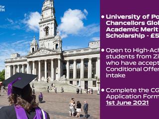 Chancellors Global Academic Merit Scholarship