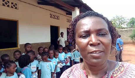Missionária Roseli Araújo - Moçambique Centro Infantil John Wesley