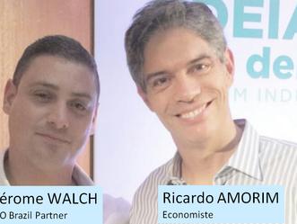 Forum économique avec la participation de l'économiste Ricardo Amorim