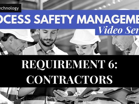 Requirement 6 of PSM - Contractors