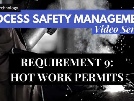 Requirement 9 of PSM - Hot Work Permits