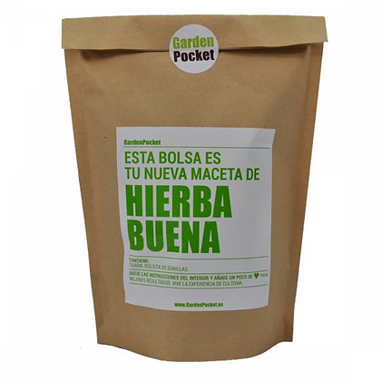 Kit potager Garden Pocket - Menthe Poivrée (Hierba Buena)