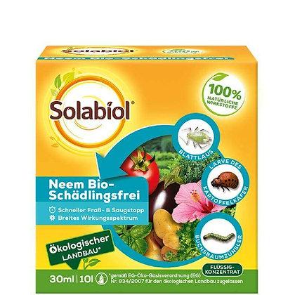 Solabiol - Huile de neem pour plantes sans parasites (30 ml)