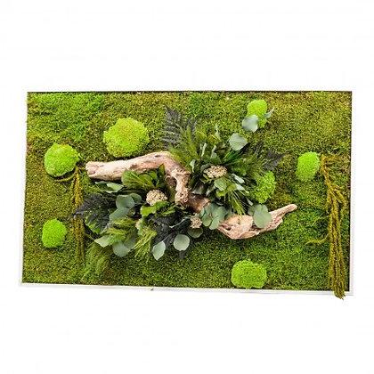 Cadre Végétal Stabilisé - Nature Rectangle XL (60 x 100 cm)