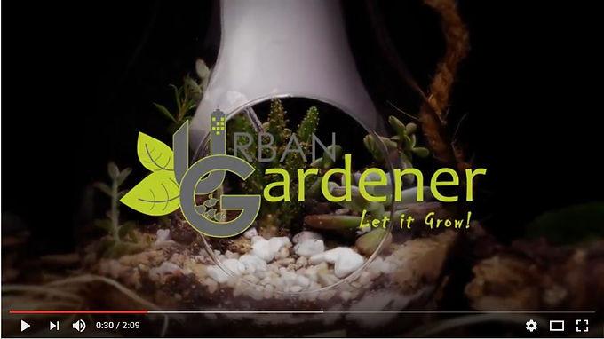 Une nouvelle vidéo de présentation pour Urban Gardener
