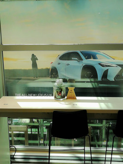 Lexus Business Lounge - Brussels
