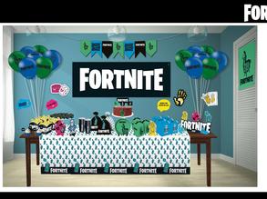 Festcolor lança tema para festas do Fortnite, um dos jogos mais populares do mundo.