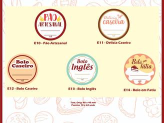 Hiper Embalagens, sócio apoiadora ASBRAFE, lança etiquetas para confeitaria