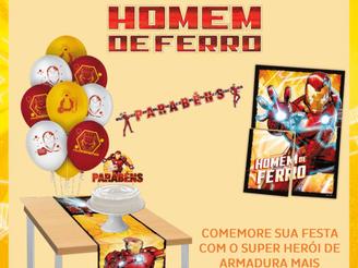 Regina Festas lança tema para festas: O Homem de Ferro