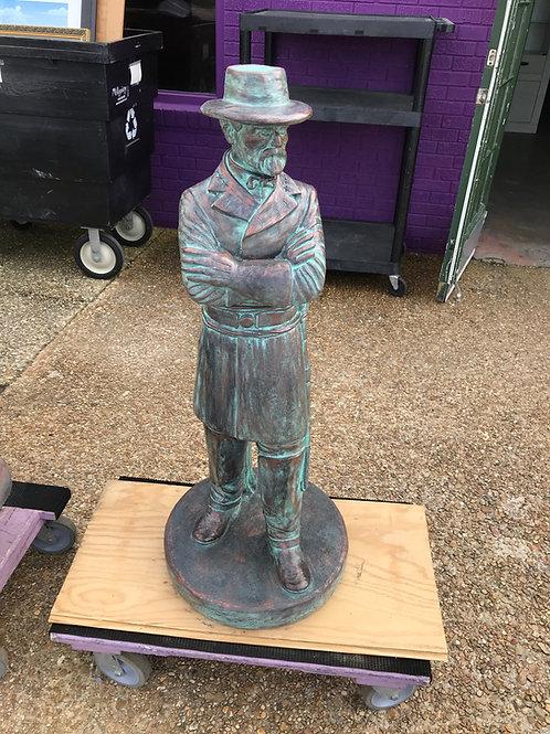 Robert E. Lee Concrete Statue