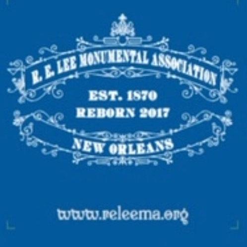 A dozen (12) R. E. Lee Monumental Association Koozies