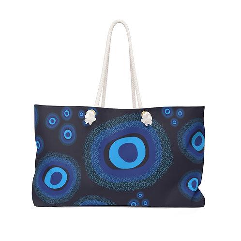 Nazar Blue Weekender Bag