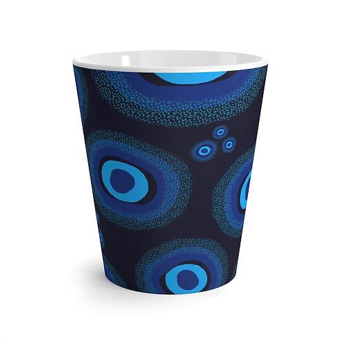 Nazar Blue Latte Mug
