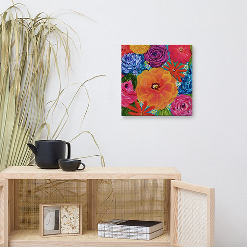 Vivid Blooms Canvas