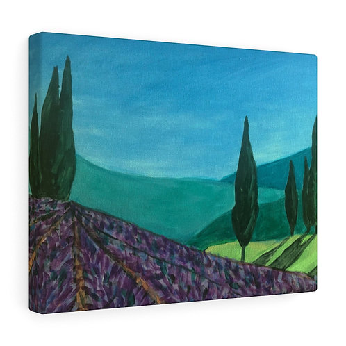 Tuscan Landscape Canvas Gallery Wraps