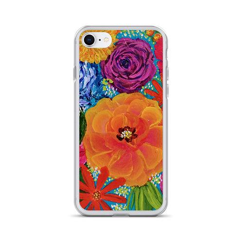 Vivid Blooms iPhone Case