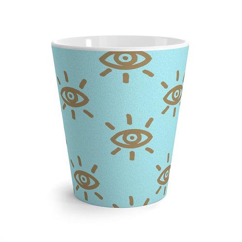 ISeeU-Golden Eye Latte Mug